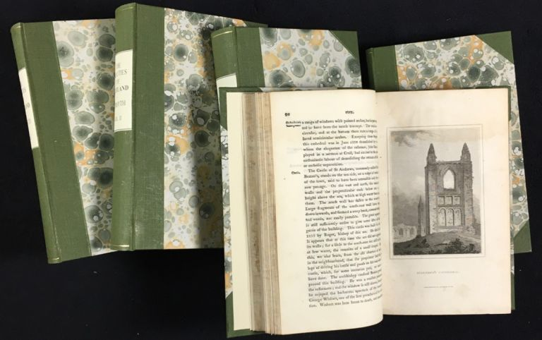 The Beauties of Scotland. [Complete in 5 volumes] Containing a clear and full account of the Agriculture, Commerce, Mines, and Manufactures; of the Population, Cities, Towns, Villages, &c. of each county. Robert Forsyth.