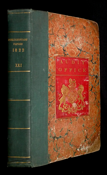 [ Parliamentary Papers, 1822: ] VOL. XXI. Accounts and Papers (2.) relating to: The Bank of England, The Bank of Scotland, and Country Banks; Corn, Grain, Malt, Beer, Distilleries, and Spirits; Courts of Law; Extents in Aid; Public Works; British Museum; Vaccine; & c. Session 5 February to 6 August, 1822. British Parliament.