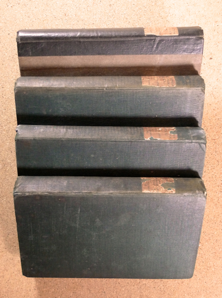 The Works of Oliver Goldsmith. [spine title: Goldsmith's Miscellaneous Works, with Life, Notes and Index.] [Complete four volume set.]. Oliver Goldsmith: edited with, H B.