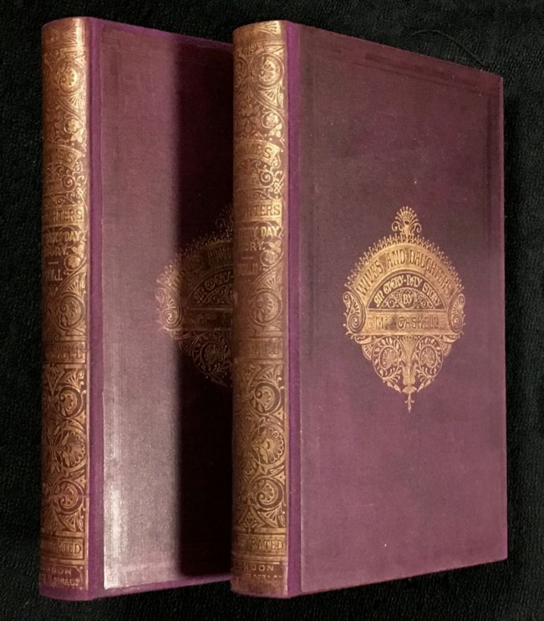 Wives and Daughters. An Every-Day Story. [2 volumes complete]. Mrs. Gaskell.