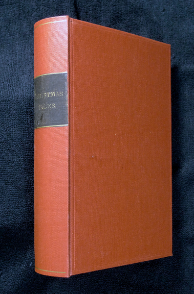 'Christmas Tales' (spine title): a compendium, containing: [i] Diprose's Annual Book of Fun, Facts, & Fiction; [ii] The Gentleman's Annual (including Old Father Time by Francillon); followed by two more Francillon stories: [iii] In the Dark: in seven watches; and [iv] Mixt with Magic (in seven spells). James Greenwood John Diprose, F. W. Robinson, Julian Hawthorne, R. E. Francillon.
