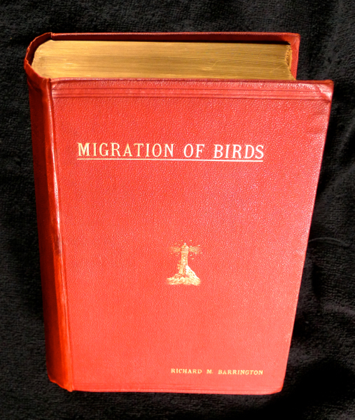 The Migration of Birds: as observed at Irish Lighthouses and Lightships including the original reports from 1888-97, now published for the first time, and an analysis of these and of the previously published reports from 1881-87: together with an Appendix giving the measurements of about 1600 wings. Richard M. Barrington.