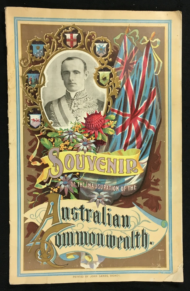 Souvenir of the Inauguration of the Australian Commonwealth.