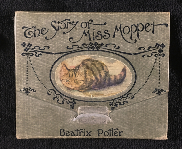 The Story of Miss Moppet. [original foldout format]. Beatrix Potter.