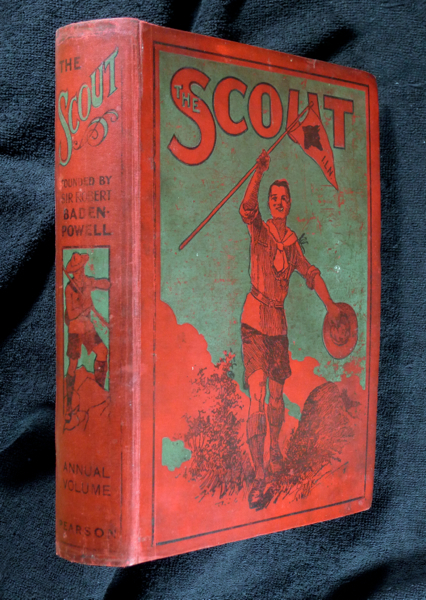 The Scout. Volume XVII for 1922. August 1921 - July 1922. Sir Robert Baden-Powell.