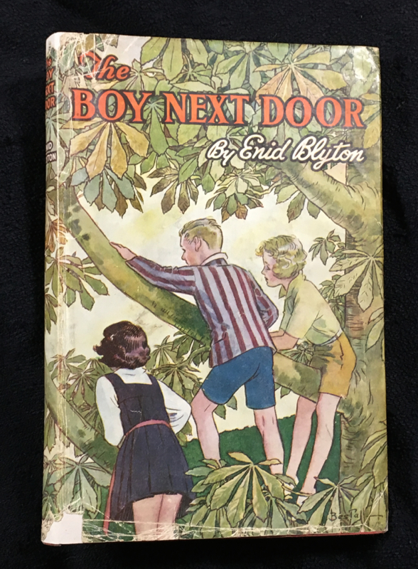The Boy Next Door. Enid Blyton, A E. Bestall, Alfred Bestall.