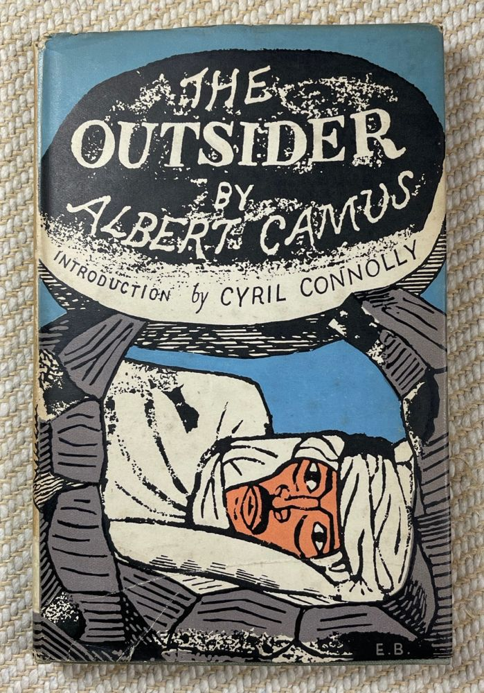 The Outsider. Albert Camus, Cyril Connolly.