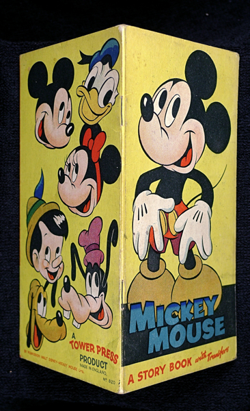 Mickey Mouse: A Story Book with Transfers. By permission Walt Disney - Mickey Mouse Ltd.