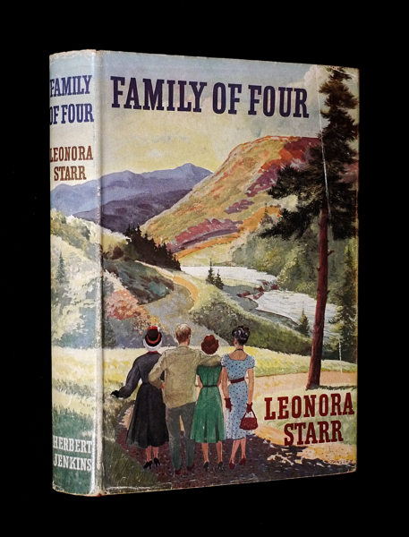 Family of Four. [Signed Copy]. Leonora Starr, wife of the mayor of Southwold Dorothy Rivers Mackesy, Suffolk.