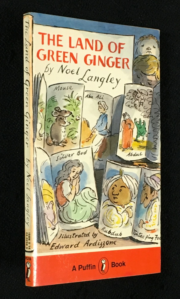 The Land of Green Ginger. [Unique copy?]. Noel Langley, Edward Ardizzone.