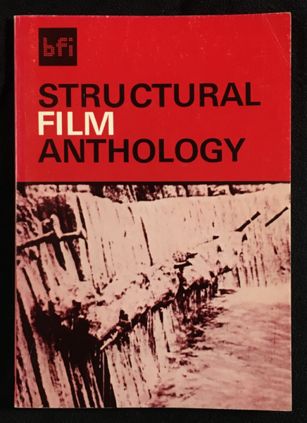 Structural Film Anthology. edited and Peter Gidal.