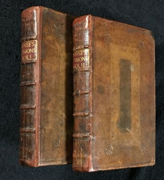Sermons Preach'd on Various Subjects [Vol I title] and Sermons Preach'd on Several Subjects [Voll...