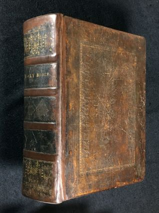 An UNRECORDED EDITION of the BIBLE]: The Oxford Family-Bible; or, Christian's Compleat Library....