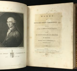 The Works of Richard Owen Cambridge, including several pieces never before published: with an account of his Life and Character, by his son, George Owen Cambridge, Prebendary of Ely.