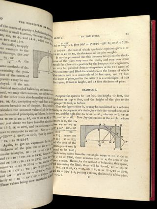 Tracts on Mathematical and Philosophical Subjects; comprising, among numerous important articles, the Theory of Bridges, with several plans of recent improvement. Also the results of numerous experiments on the Force of Gunpowder, with applications to the modern practice of Artillery.