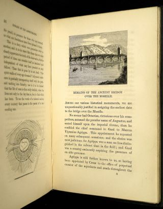The Stranger's Guide to the Roman Antiquities of the City of Treves. [present-day Trier]. PLUS: ALs: letters from Wyttenbach tipped in. To which are added, plates from unpublished drawings, and other illustrations.