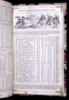 Poor Richard's Farmers' & Commercial Pocket Book for 1845.