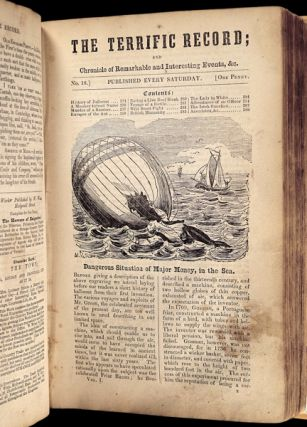 The Terrific Record; and Chronicle of Remarkable and Interesting Events, &c. [No.1 through to No. 49, bound.]