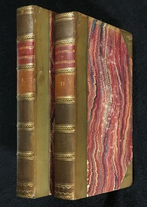 Correspondance et Oeuvres Posthumes. [Two Volumes