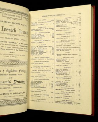 Suffolk County Handbook and Official Directory for 1895, with which are incorporated Knights's County Handbook and Glyde's Suffolk Almanack.