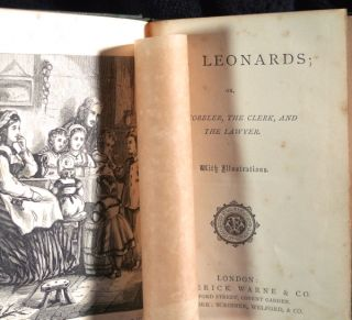 The Leonards; or, the Cobbler, the Clerk, and the Lawyer. With illustrations.