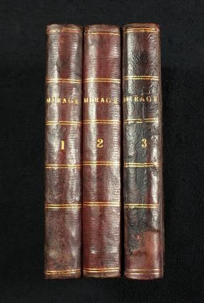 Mirage. In Three Volumes. George Fleming, Julia Constance Fletcher.