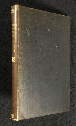 Abstract of the Proceedings of the Chemical Society. Vol.I. Nos. 1-15. January - December 1885,...