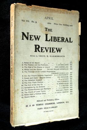 The New Liberal Review: Vol VII. No. 39. Cecil B. Harmsworth