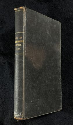 Poor Law Commissioners' report of 1834. Copy of the report made in 1834 by the Commissioners for...