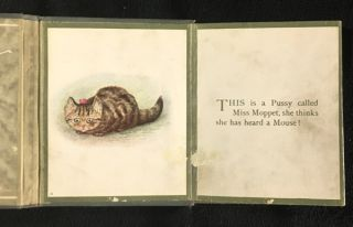 The Story of Miss Moppet. [original foldout format].