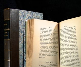Emma (complete in two volumes). [Vols VII & VIII of The Winchester Edition of the Novels of Jane...