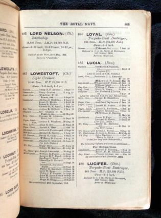 The Navy List for July 1920 (corrected to June 1920). Containing Lists of Ships, Establishments, and Officers of the Fleet.