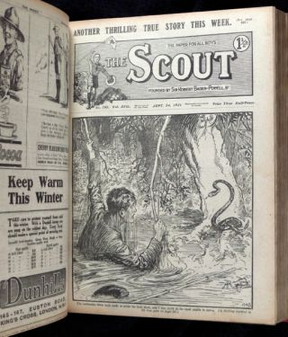 The Scout. Volume XVII for 1922. August 1921 - July 1922.