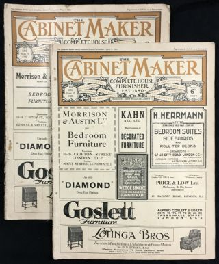 The Cabinet Maker and Complete House Furnisher. Periodical. Six 1923 issues: #1232 (May 5), #1233...