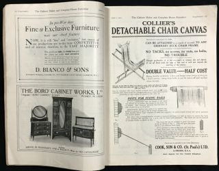 The Cabinet Maker and Complete House Furnisher. Periodical. Six 1923 issues: #1232 (May 5), #1233 (May 12), #1236 (June 2), #1237 (June 9), #1238 (June 16), #1242 (July 14).