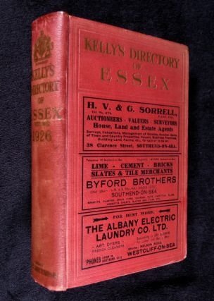 Kelly's Directory of Essex, 1926. A. Lindsay Kelly