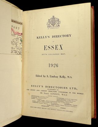 Kelly's Directory of Essex, 1926.