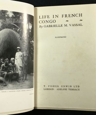 Life in French Congo.