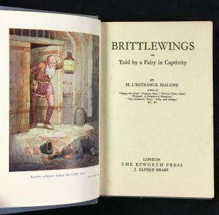 Brittlewings, or Told by a Fairy in Captivity. [aka Brittle-Wings]. [Inscribed by author]