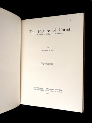 The Picture of Christ as evidence of Religious Development.
