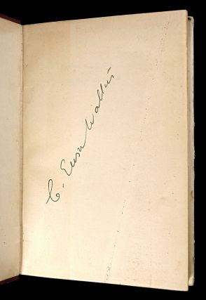 Ensor Walters and the London he loves. [Signed Copy].
