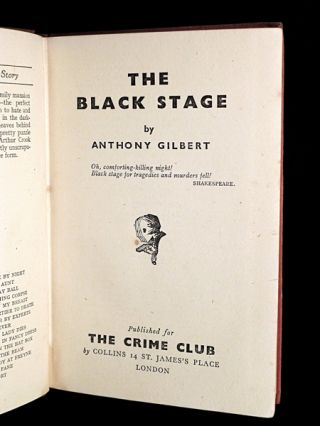 The Black Stage.