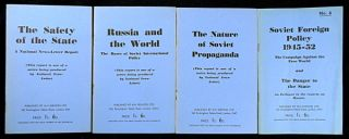 four 'National News-letter Reports on Communism', numbers 1, 2, 3, & 6: The Safety of the State;...