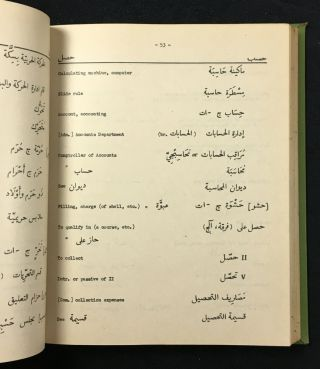 A Dictionary of Modern Egyptian Arabic. Arabic-English. For Official Use Only. Copy No. 123.