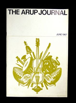 Snape Concert Hall. The Arup Journal: Vol. 1. No. 4 June 1967. Derek Sugden, Art Rosemary Devine, Desmond Wyeth.