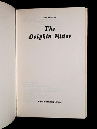 The Dolphin Rider.