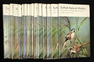 Suffolk Natural History. The Transactions of the Suffolk Naturalists' Society. Including the...