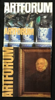 Artforum: 3 odd issues: 1980 May. Vol XVIII No.9, Marcel Broodhaers cover; 1981 Summer...