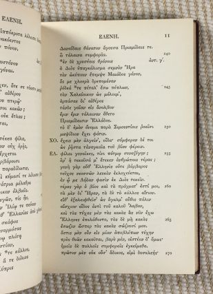 Euripides - Helena. Part I: Introduction and Text.