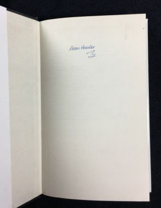 Amorous Leander. A Superintendent Gently suspense novel. [signed copy]